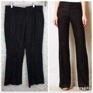Anthro Elevenses Linen Blend Wide Leg Pants | 8